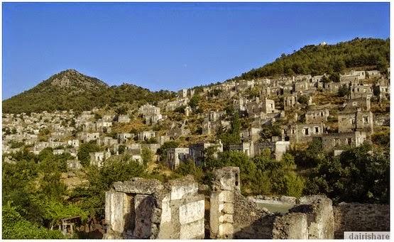 Inilah Desa Hantu Di Turki Yang Sangat Terkenal