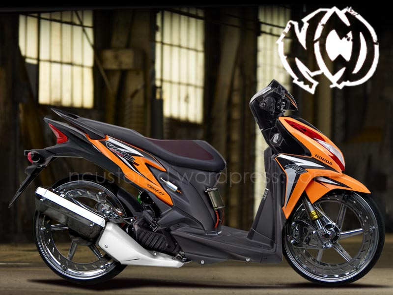 Modifikasi Vario Techno 125 PGM-FI | Vario CBS 125 title=
