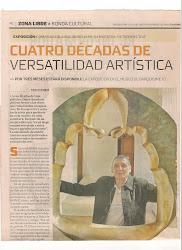 MIS 40 AÑOS DE ARTE EN EL MUSEO DE BARQUISIMETO