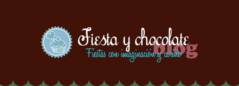 fiesta y chocolate. articulos personalizados para cumpleaños, comuniones, bautizos, baby