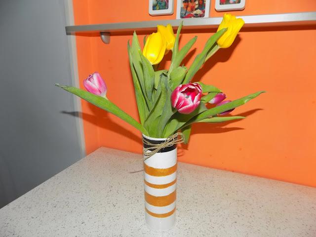 Цветы поделка из подручных материалов 53