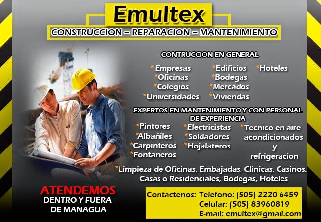 Anuncios clasificados managua nicaragua servicios de for Servicios de construccion