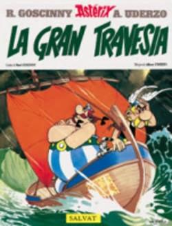 Astérix. La Gran Travesía,Albert Uderzo, René Goscinny,Salvat  tienda de comics en México distrito federal, venta de comics en México df
