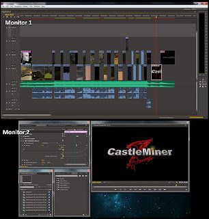 Dual Monitor Layout in Adobe Premiere