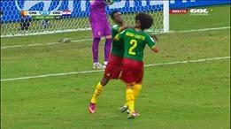 اسوأ لقطة فى مونديال البرازيل  2014