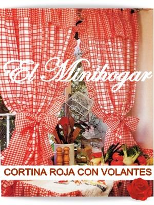 El minihogar for Cortinas con volantes