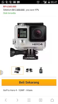 http://www.lazada.co.id/gopro-hero-4-silver-edition-gratis-sandisk-micro-sd-32gb-tongsis-gpro-tas-gopro-medium-ekstra-baterai-charger-gopro-1179226.html