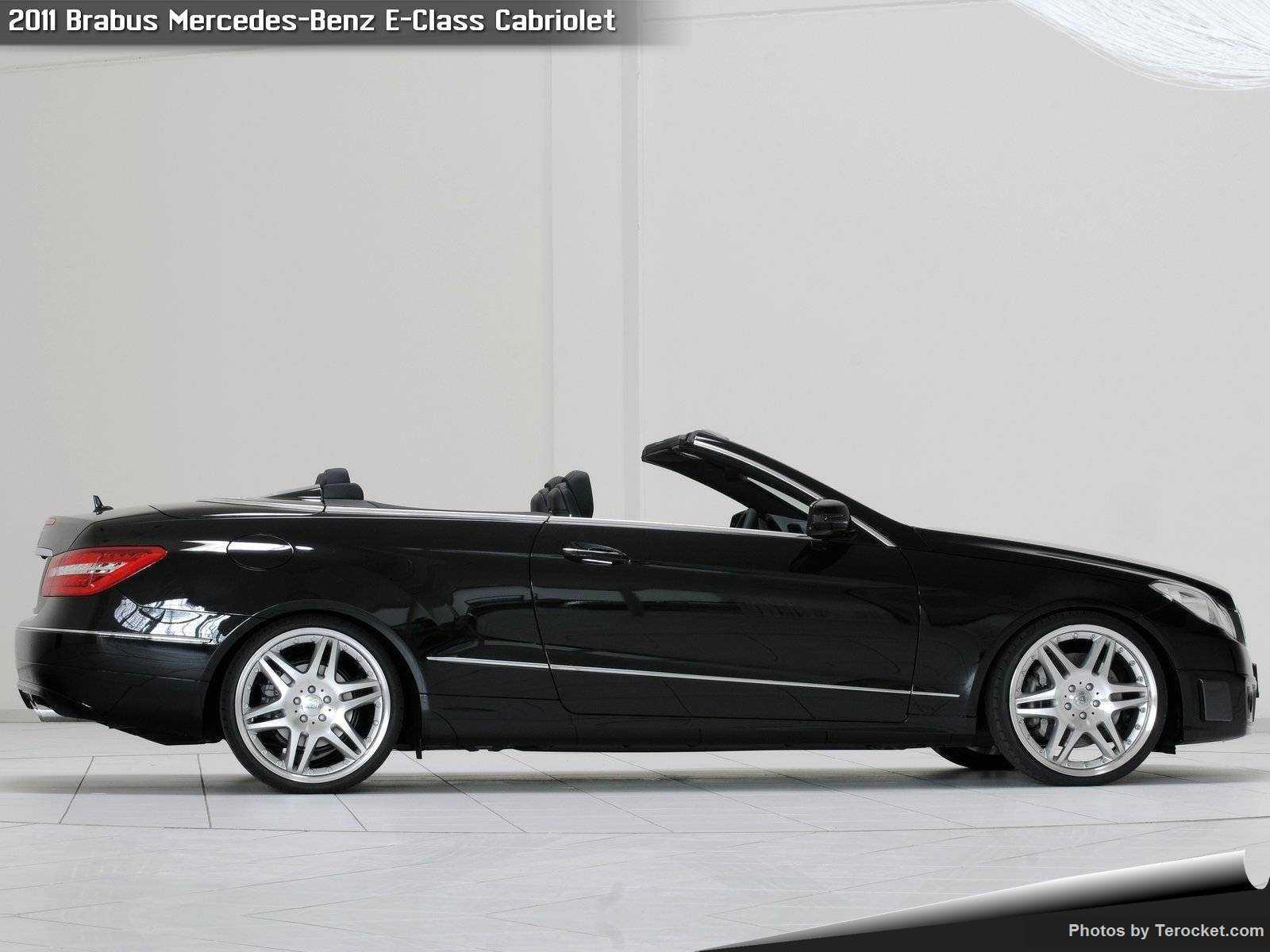 Hình ảnh xe ô tô Brabus Mercedes-Benz E-Class Cabriolet 2011 & nội ngoại thất