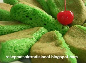 Resep Kue Pukis Pandan dan Cara Membuatnya