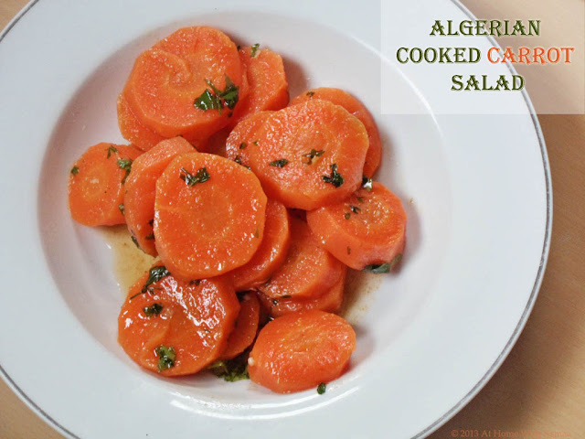 algerian cooked carrot salad recipe | Halal Home Cooking