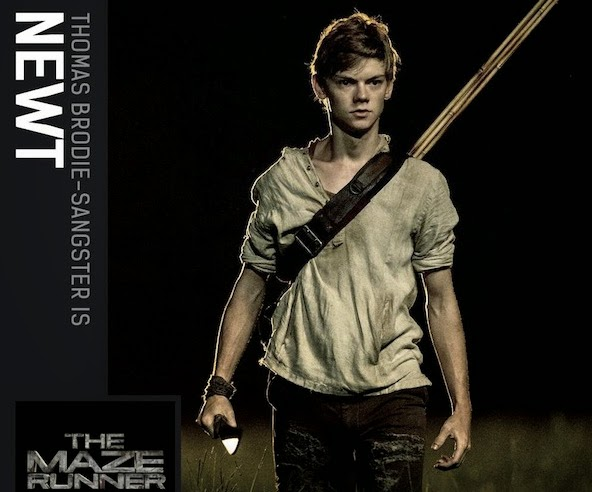 The Maze Runner Thomas Sangster