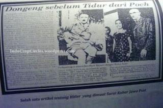 [Misteri] Benarkah HITLER Meninggal Di Indonesia Sebagai Muslim?