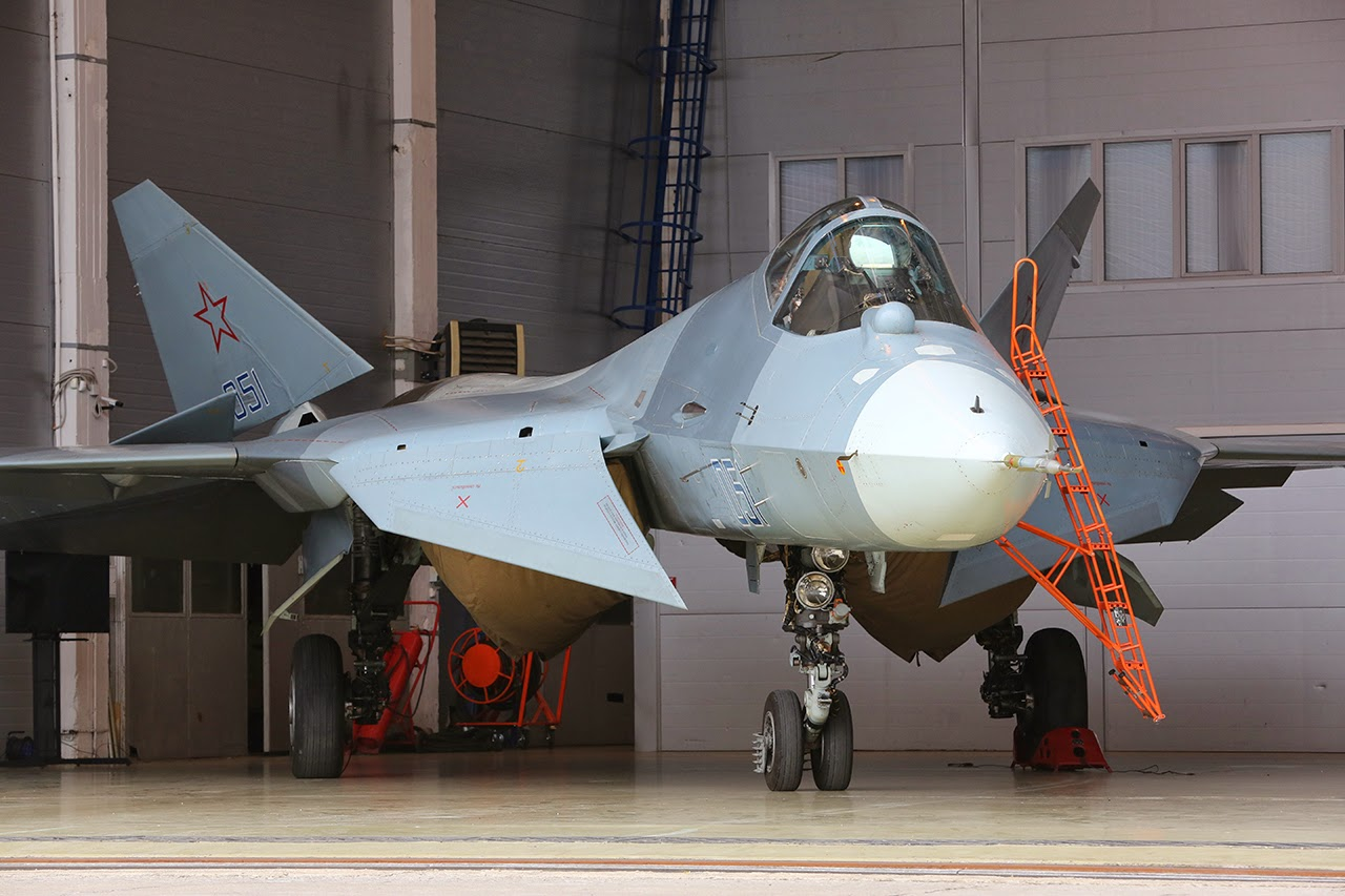 PAK-FA Stealth Fighter
