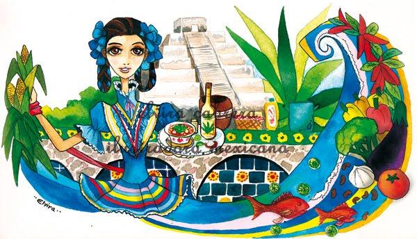 HISTORIA DE LA COMIDA MEXICANA