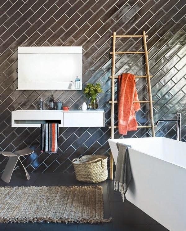 Design Interior Kamar mandi rumah unik terbaru