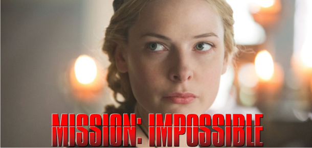 Rebecca Fergusson e Alec Baldwin se juntam ao elenco de Missão Impossível 5