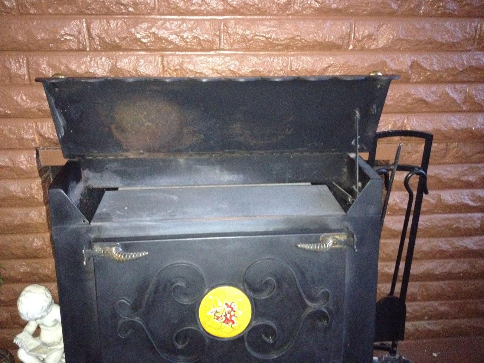 Grandpa Jim's Garden: Fireplace Insert