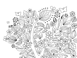 Crazy Design Coloring Sheets