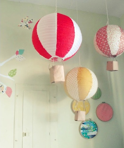DIY Balloon lamp