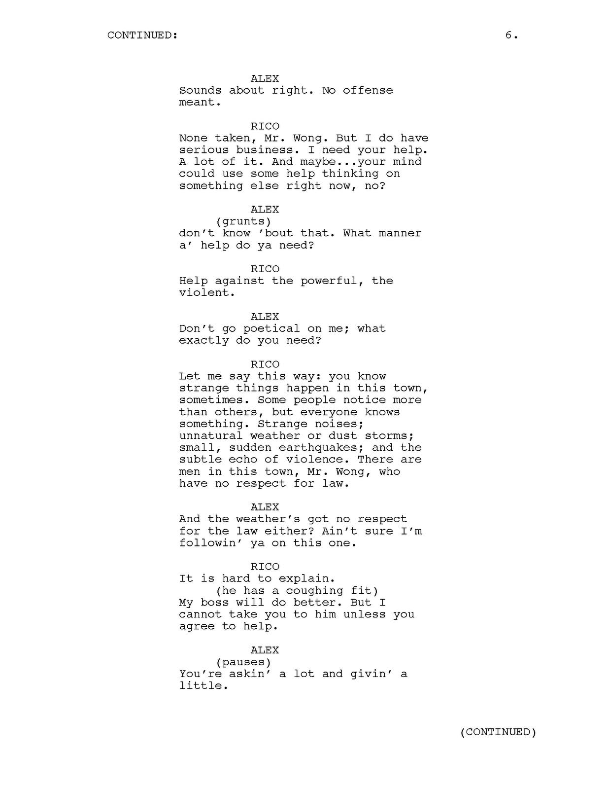 how to write a pilot script for tv show
