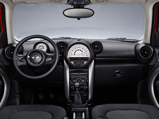 Mini countryman new 2013 interior