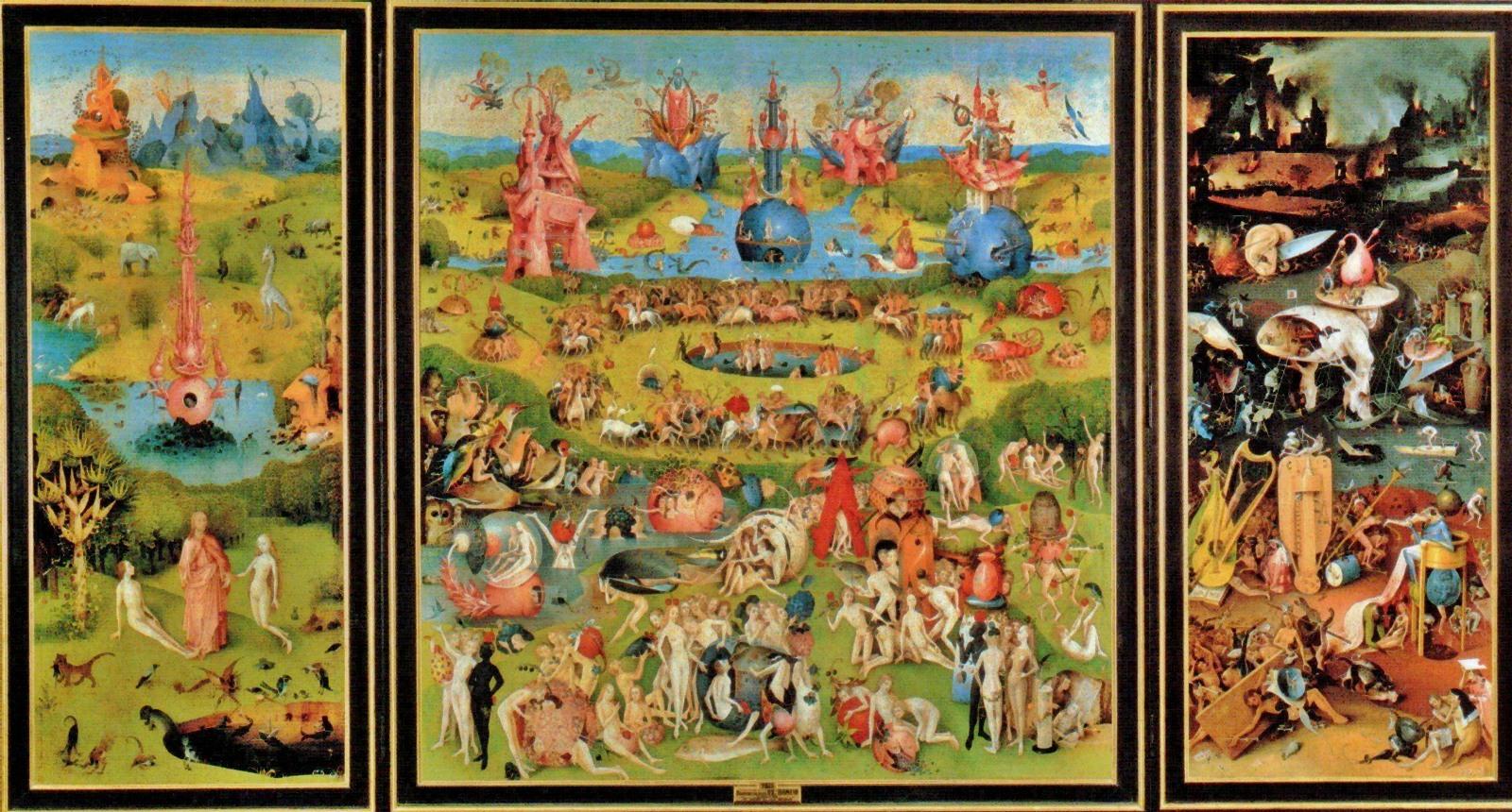 Comienza la secci n obras de arte con misterio universo - El bosco el jardin de las delicias ...
