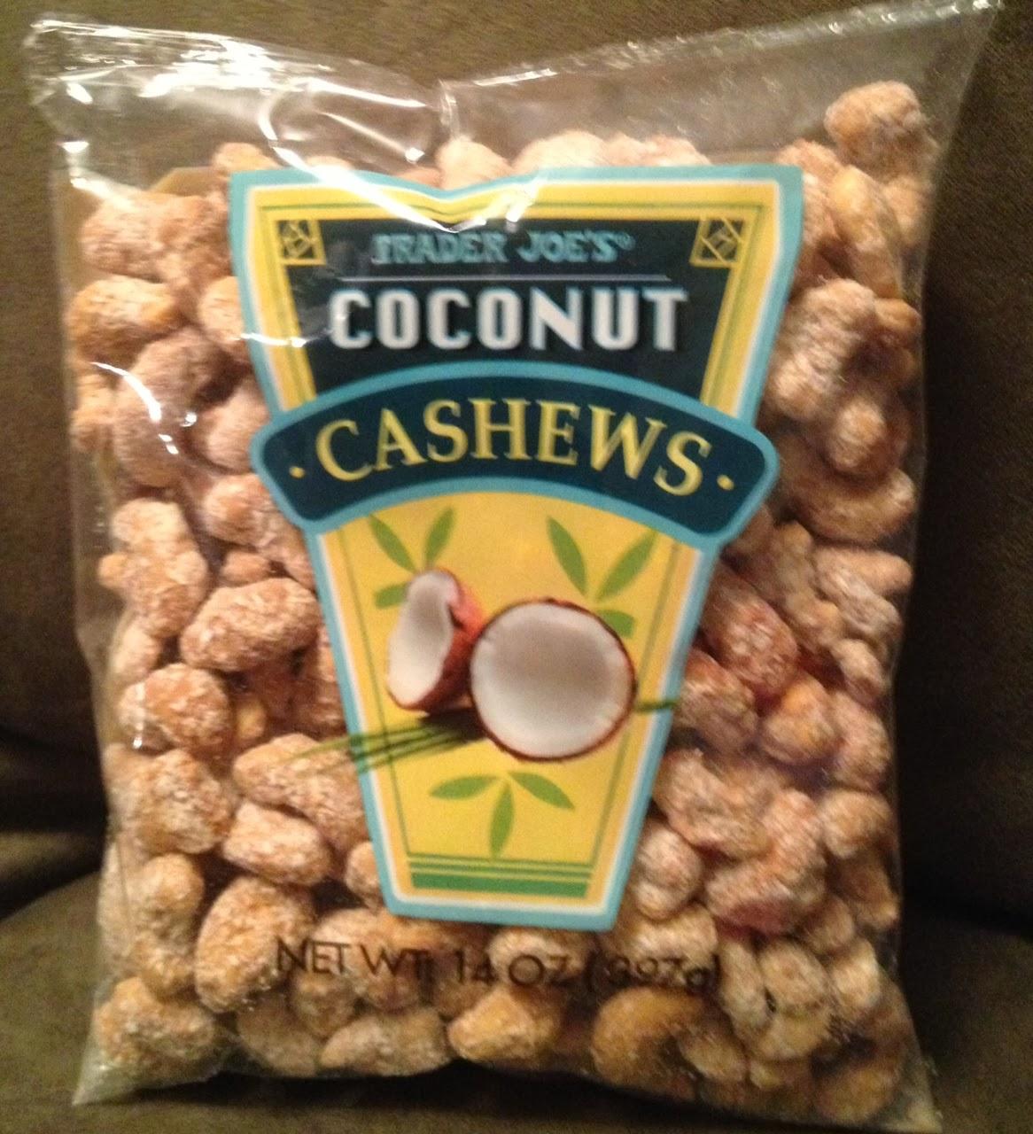 what 39 s good at trader joe 39 s trader joe 39 s coconut cashews. Black Bedroom Furniture Sets. Home Design Ideas