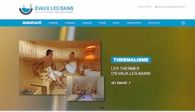 Le site officiel de la ville Evaux les bains