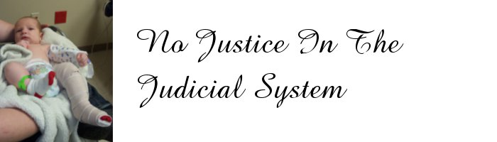 No Justice in the Judicial System