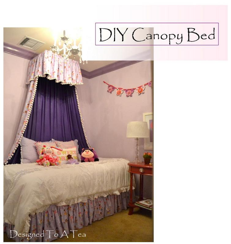 Diy bedroom canopy on pinterest canopy beds canopies for Canopy over bed