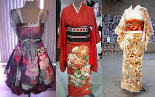 fotos e imagens de Vestidos Japoneses