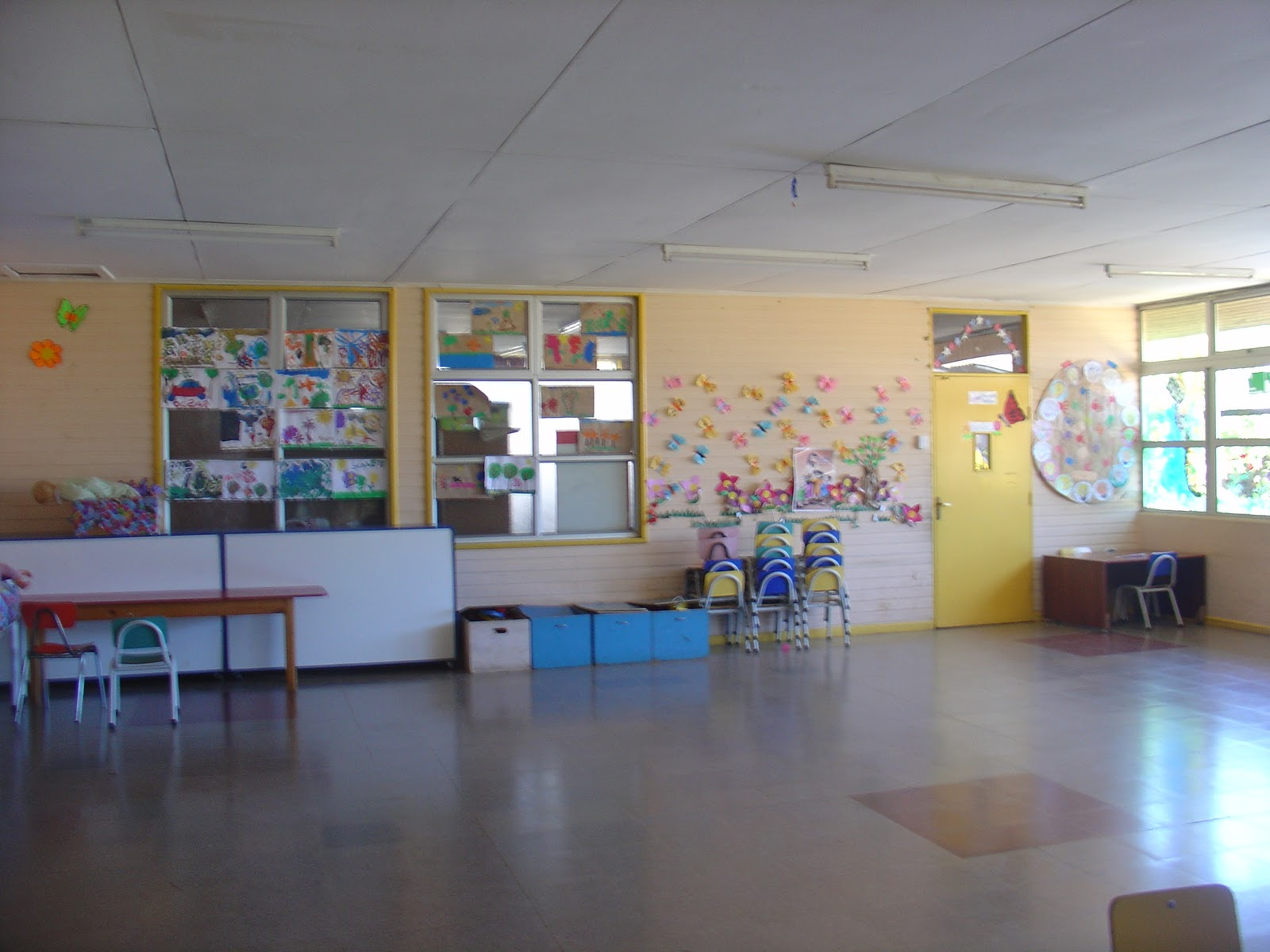 Escuela claudio flores soto infraestructura for Mobiliario para parvulos