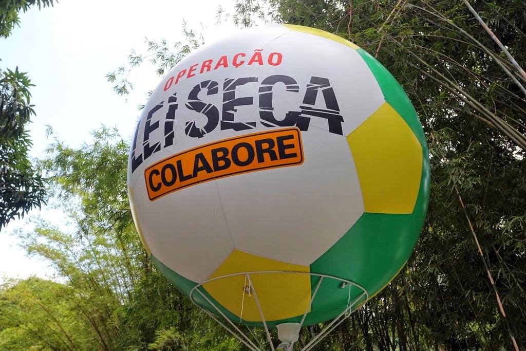 Operação Lei Seca vai intensificar ações na Copa do Mundo