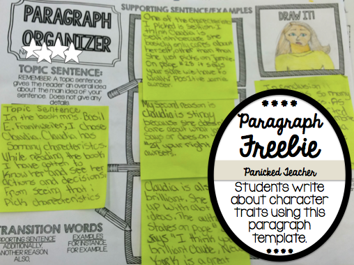 Paragraph writing, Paragraph template, Paragraph