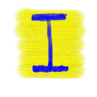 Graffiti Alphabet Letter I