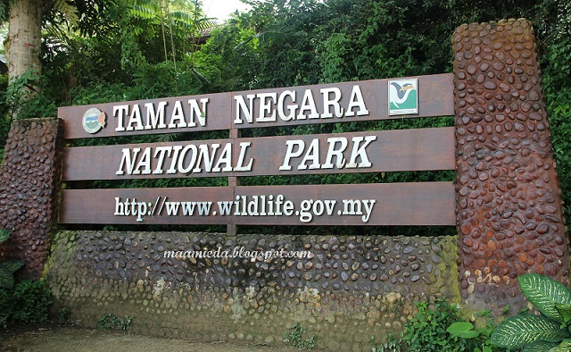 Kenali Taman Negara Malaysia