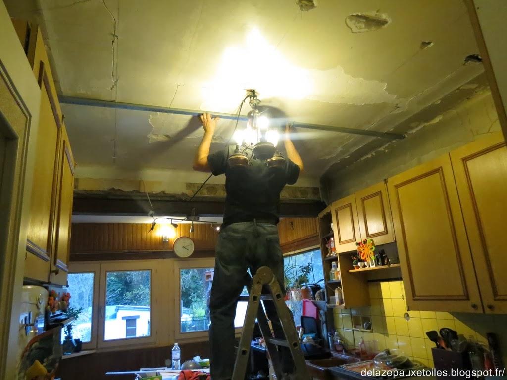 Rails faux plafond - de la Zep aux Étoiles