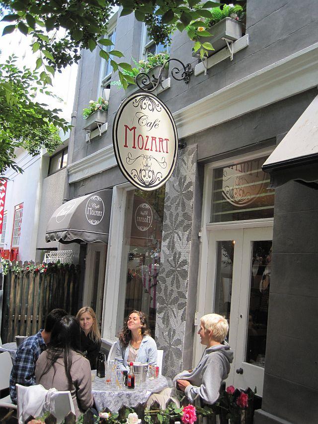 Cafe Mozart Restaurant Cape Town