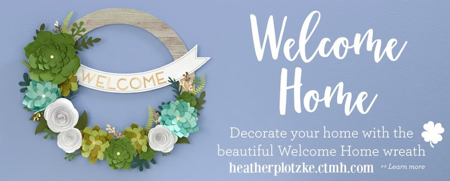 Welcome Home Paper Crafting Wreath
