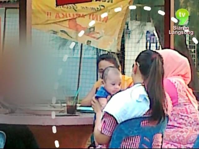 Gambar] Siti Saerah Dukung Anak