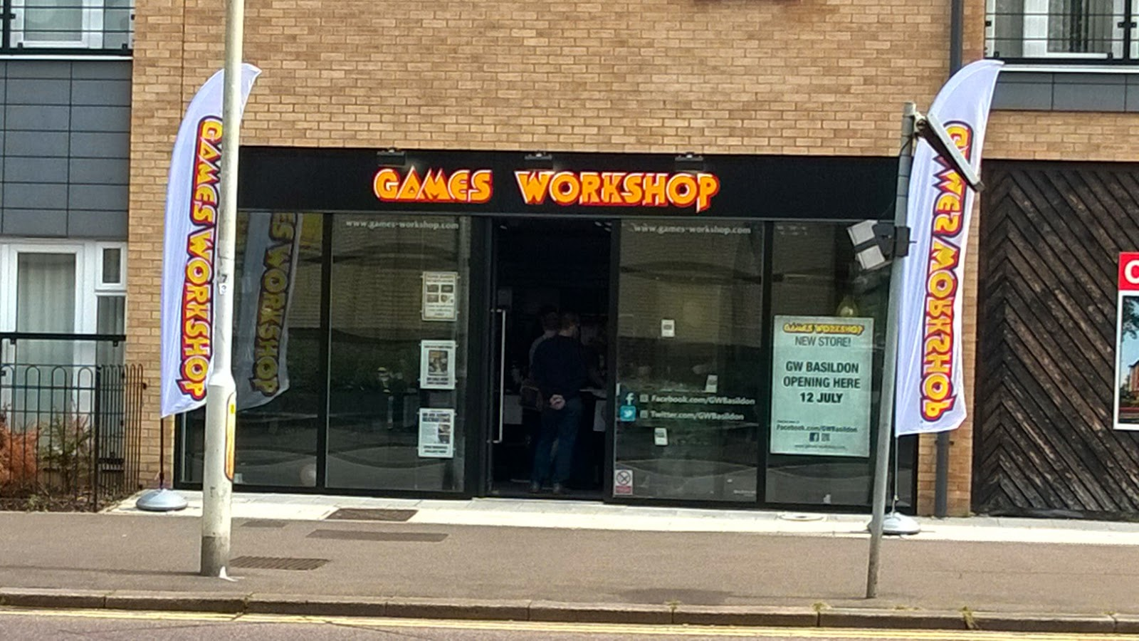 Games Workshop GW basildon