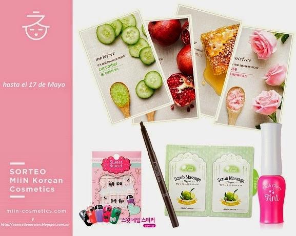 ¡SORTEO de un lote de cosmética coreana con Miin Cosmetics!