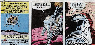 Fantastic Four #98, Neil Armstrong; One small step for a man...