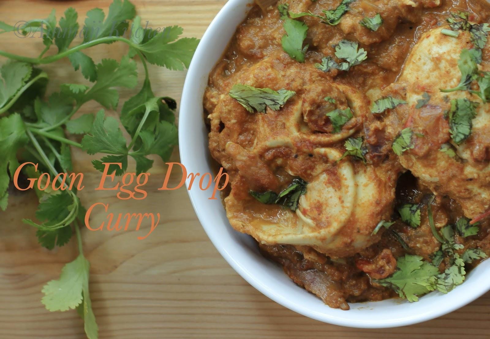 Goan egg drop curry indian food recipes ammaji kitchen goan egg drop curry forumfinder Gallery