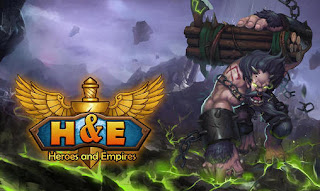 Screenshots of the Heroes and empires for Android tablet, phone.