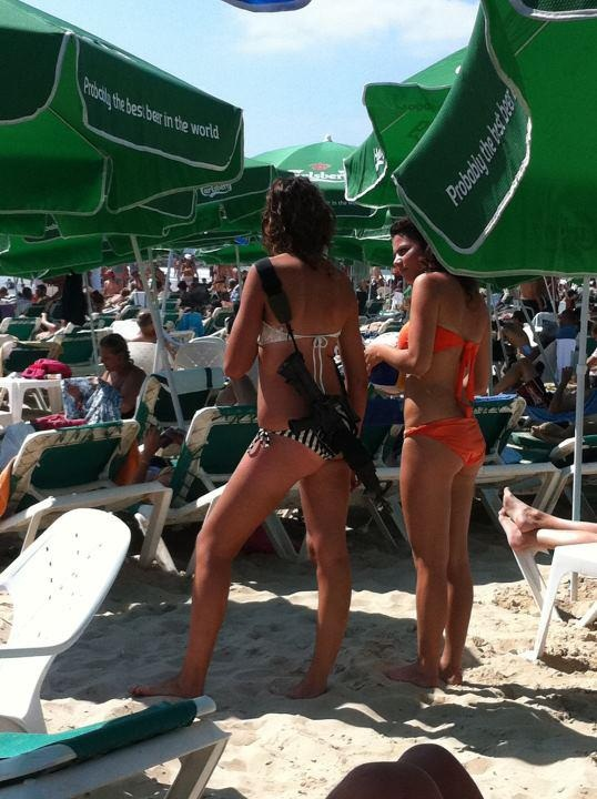 Beach bikini girl girl holy israel land palestine