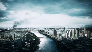 Battlefield 3 City Under Attack HD Wallpaper