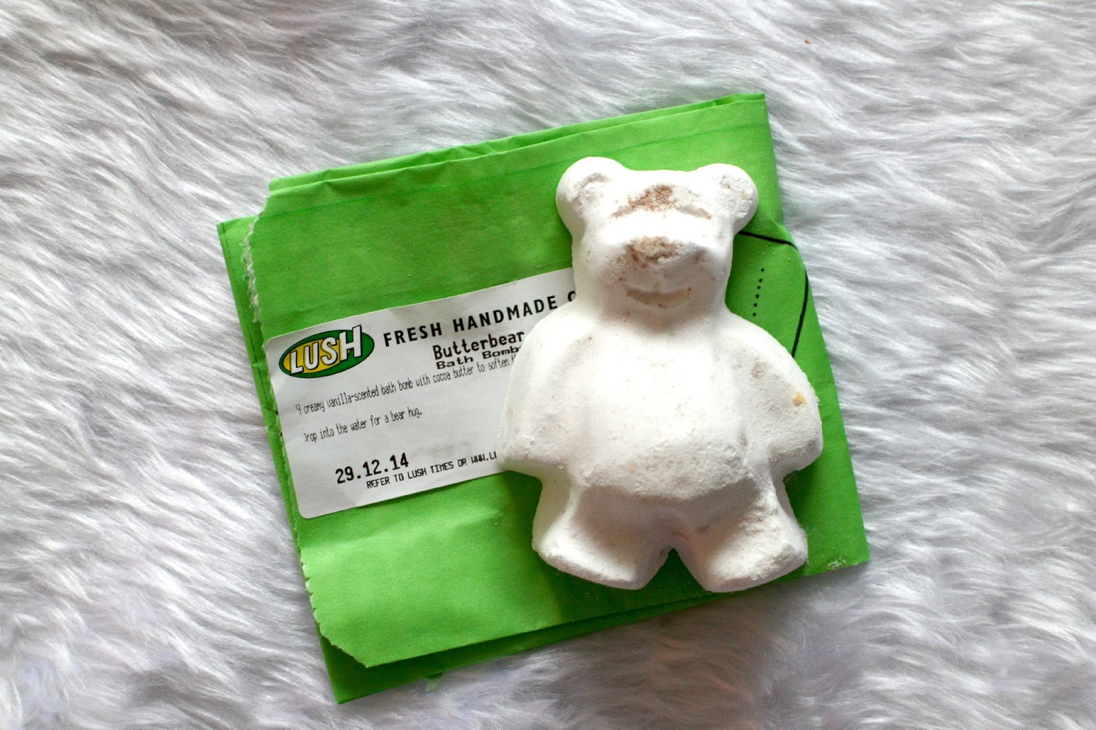 Lush Butterbear Bath Bomb Review