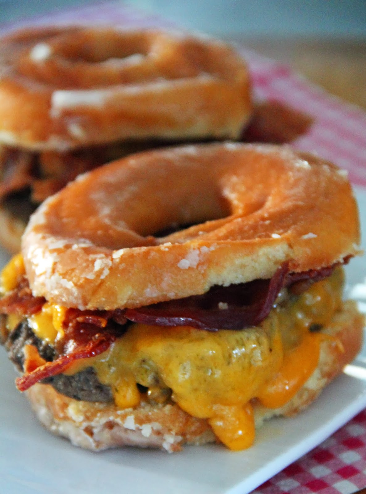 Donut Bacon Donut Bacon Cheeseburger