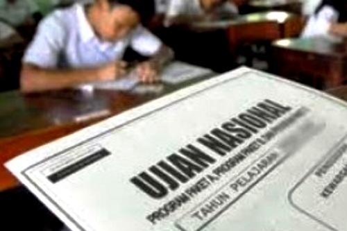 Ujian Nasional. Kotabumi Lampung Utara